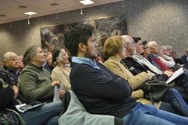 mange møtte opp på det siste informasjonsmøtet i Bergen sentrum