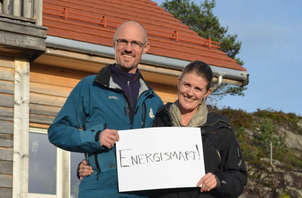 På Lindås i Nordhordland har Vibeke og Arild har bygget en energismart bolig