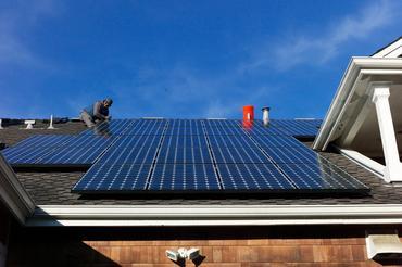 solfangere på tak