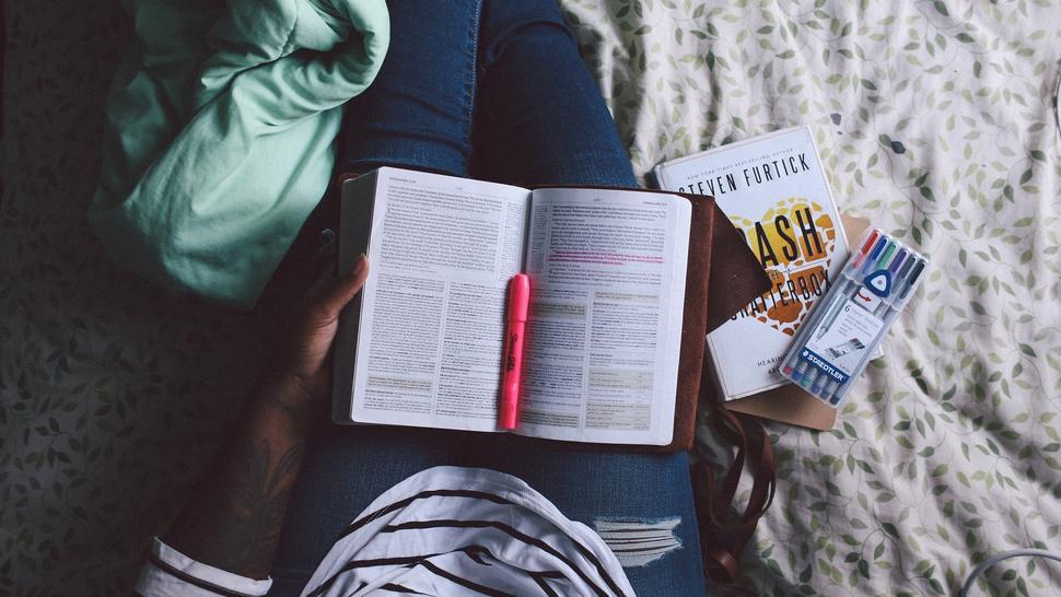 Student som studerer